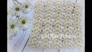 How to Crochet a Lacy Stitch for a Scarf Shawl or Summer Blouse Crochet Video Tutorial