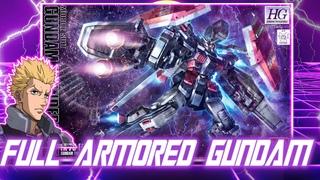 Gundam Speed Build: Full Armored Gundam  HG 1/144 Gundam Thunderbolt