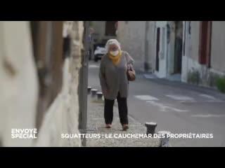 Martine, 75 ans, se retrouve à la rue. Elle ne peut plus rentrer chez elle à cause d'un #squatteur qui occupe sa maison
