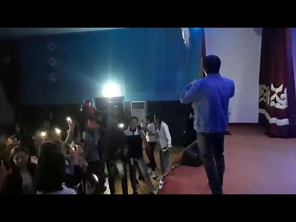 BaGi Мен саған лайықты емеспін Концерт Қазығұрт 2019
