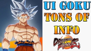 Dragon Ball FighterZ - Bandai stream brings new info about UI Goku! Moves, Unique properties & more!