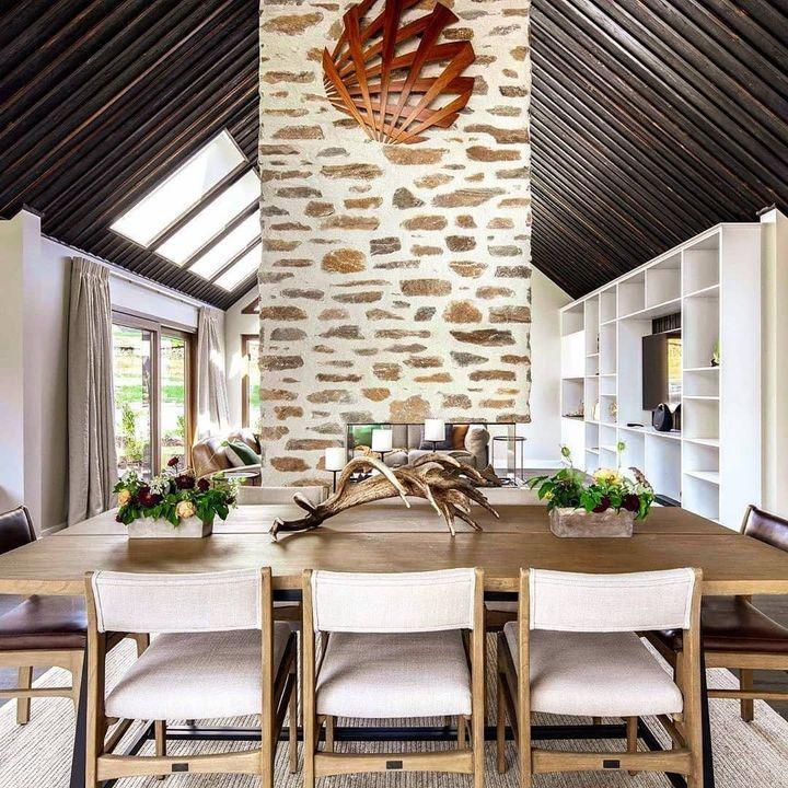 Современный загородный домик в Новой Зеландии