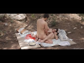 Jimena Lago and Miriam Prado - Triple Delight [All Sex, Hardcore, Blowjob, Threesome, Outdoor]