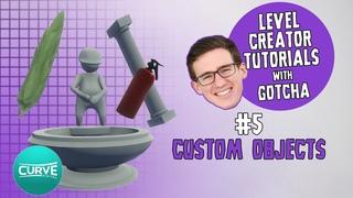 Human: Fall Flat Level Creator Tutorials | #5 Custom Objects | Curve Digital