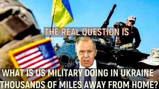 Lavrov: What Is Russia Doing On The Border With Ukraine!? The Answer Is Very Simple: We Live Here!