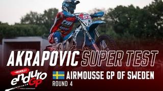 2021 Borilli FIM EnduroGP World Championship - Rnd4 Sweden, Akrapovic SuperTest highlights