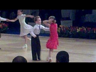 танцфорум 2011 джайв (Николай и Елизавета Пузырёвы(в красном платье))