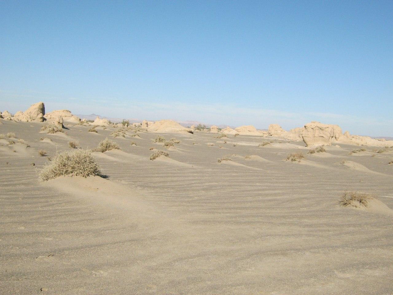 в Белуджистане пейзажи подобны
