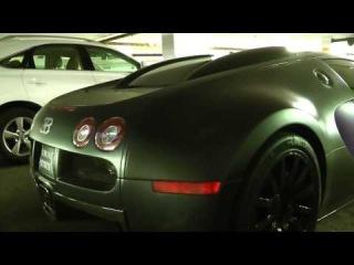 "Crazy Matte Purple/Black Bugatti Veyron - ""Joker Edition"""