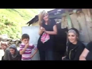 Панкисское ущелье Кистинцы кистури поют на чеченском и грузинском