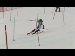Petra Vlhova on top in slalom! - Innsbruck 2012 Ladies Alpine Skiing Slalom
