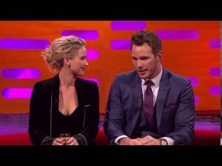 The Graham Norton Show S20E09 Jennifer Lawrence, Chris Pratt, Jamie Oliver