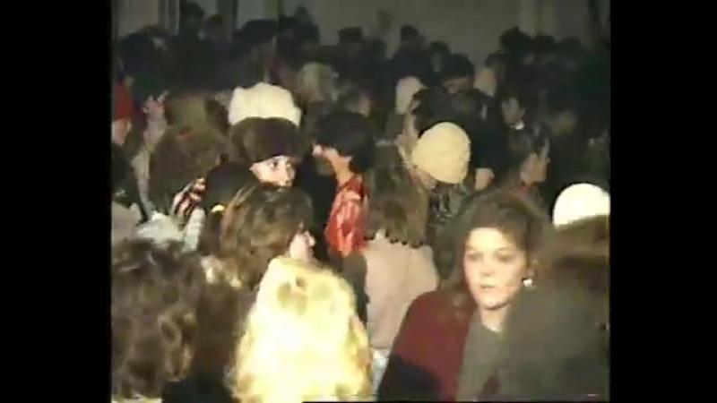 Дискотека в Тисмениці 1990 рік