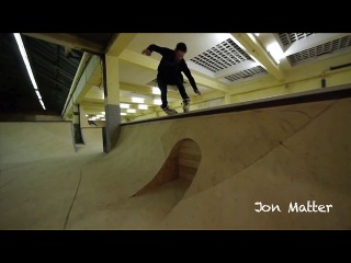 The Backyard skatepark, opening day with Jon Matter, Andy Horat and Adrien Anne