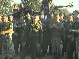 Война в Чечне. Спецназ танцует и поет, 1995