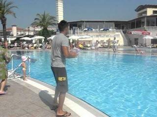 Клубный танец отеля Aydinbey Famous 5* 2011 г