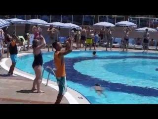 Отель Lonicera World 4*. Клубный танец 2014год