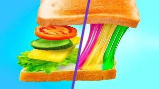 Радужная еда для единорога  8 идей