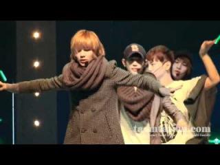 -101230- Taemin Lucif3r dry rehearsal full fancam