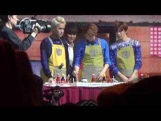 [fancam] 150117 VIXX-1st FAN PARTY HONGKONG Cooking 1