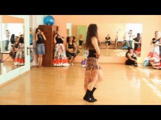 МК по цыганскому танцу. Зоя Гелевачук. 28 июля 2013 г.
