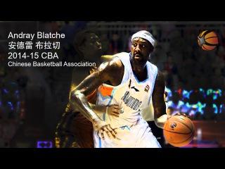 Andray Blatche China 2014-15 CBA | Full Highlight Video [HD]