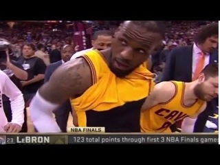 LeBron James' penis makes accidental appearance at Cavs game