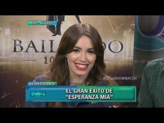 Lali Espósito contó qué hará en la apertura de Showmatch - Este Es El Show 2015