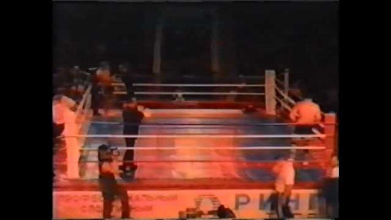 Федор Емельяненко vs Мартин Лазаров 21.05.2000