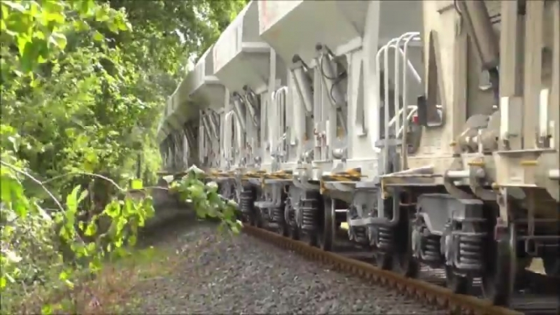 Die 4900PS starke Voith Maxima 40CC der HVLE in Bad Oldesloe am 07 08 15