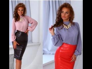 Моделируем блузку и юбку с завышенной талией.