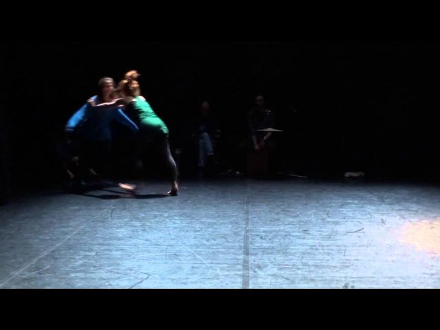 Natasha Moiseeva group score dance improvisation PushOK fest in Kiev