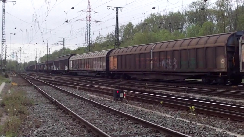 Cologne Gremberg Germany 27 4 2015 Freight Train 16