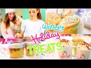 Easy + Delicious DIY Winter/Holiday treats with Niki and Gabi!