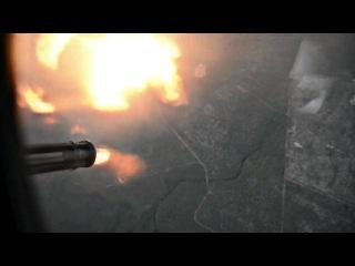 Летающая артбатарея непосредственной поддержки подразделений сухопутных войск на поле боя, самолет АС-130 Spectre/Spooky.