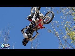 Biggest Trick In Action Sports History - Triple Backflip - Nitro Circus - Josh Sheehan
