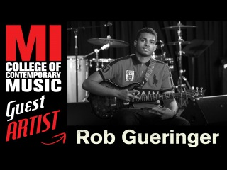 MI Alum Rob Gueringer Guitarist for Kendrick Lamar, Lil Wayne