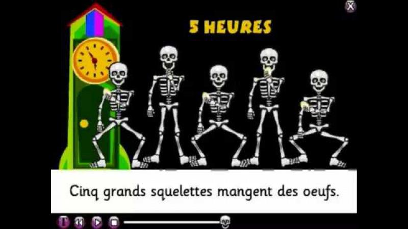 BABELZONE La chanson des squelettes