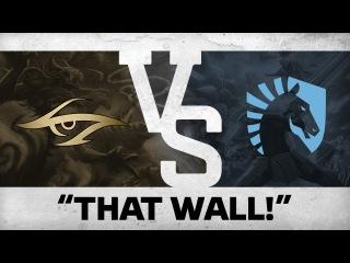 """THAT WALL!"" by MiSeRy vs Team Liquid @ The Shanghai Major"