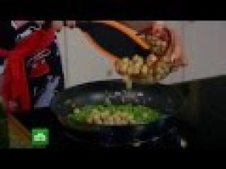 Завтрак с Юлией Высоцкой - Омлет-торт с нутом и зеленым горошком