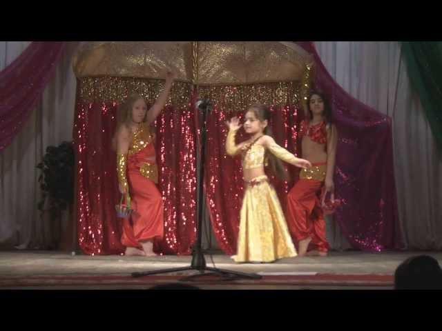 Мисс Кнопочка - 2013. Творчечкий номер. ГАНБАРОВА ЗИБАР. Восточный танец