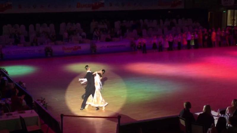 Николай Дарин - Наталья Середина (Танцфорум-2016) Танец победителей