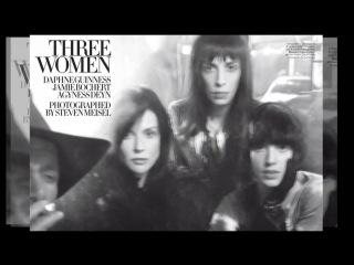 Vogue Italia February 2010: Three Women
