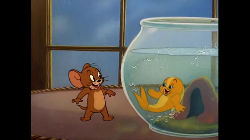 Том и Джерри - Джерри и золотая рыбка » FreeWka - Смотреть онлайн в хорошем качестве