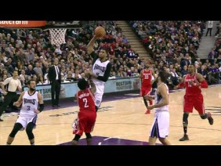Rudy Gay With a Monster And 1 Jam!