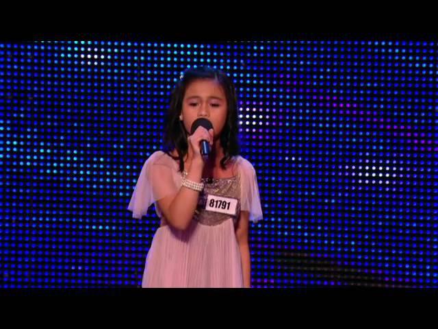 Angelic Arisxandra Britain's Got Talent Audition 2013