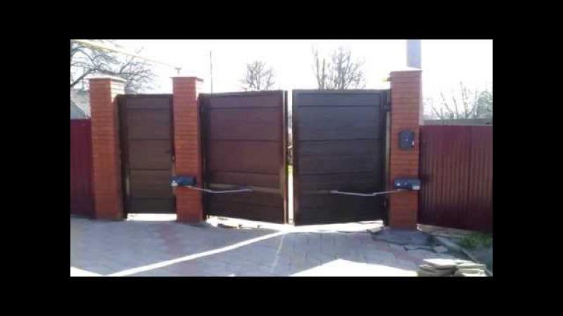 Распашные ворота Alutech Автоматика BFT IGEA BT
