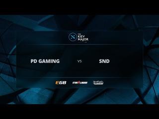 ProDota Gaming vs Slice N' Dice, Game 2, The Kiev Major EU Open Qualifiers
