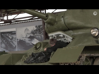 Загляни в реальный танк Т-34-85.В командирской рубке