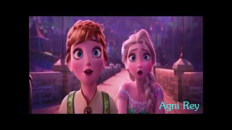 Эльза Анна и Джек сестра моя звезда